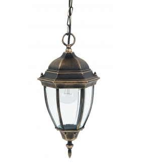 Lampa wisząca Toronto E27.1x100W złoto anty. Rabalux 8384