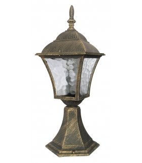 Lampa Toscana stojąca z podstawą złoto anty. Rabalux 8393