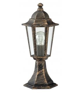 Lampa ogrodowa Velence E27/1x60W złoto anty. Rabalux 8236