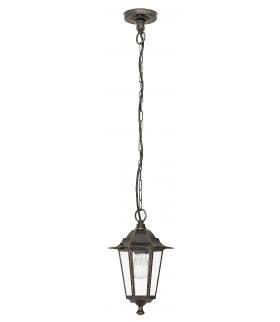 Lampa wisząca Velence E27 1x60W złoto ant. IP43 Rabalux 8238