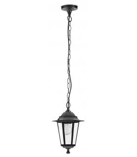 Lampa ogrodowa Velence E 27 1x60W czarna Rabalux 8208