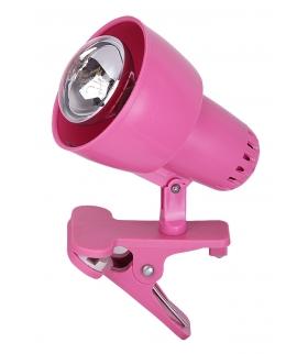 Clip E-14 R50 1xmax. 40W Różowy Rabalux 4359