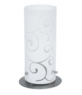 Lampa stojąca Harmony lux E27 60W chrom sat. klosz opalizowany Rabalux 6393