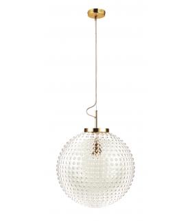 Oprawa Lampa Wisząca Szklana Kula Victoria Rabalux 2562
