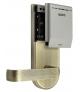 SZYLD Z KONTROLĄ DOSTĘPU EURA ELH-62B9 BRASS z czytnikiem RFID, uniwersalny rozstaw śrub mocujących