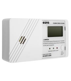 Czujnik czadu Eura CD-01EU - wyświetlacz LCD, bateryjny, 7 lat gwarancji, Made in Poland