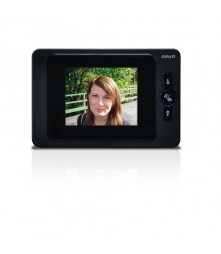 """Wideo monitor bezsłuchawkowy kolorowy, LCD 4"""",otwieranie bramy"""