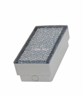 BRIQUE 36 LED 5MM 230V 2,9W IP67 200X100X68MM WW KOSTKI BRUKOWE SLI009002WW