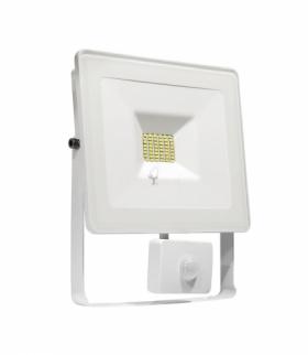 NOCTIS LUX SMD 120ST 230V 10W IP44 CW WALLWASHER WHITE WITH SENSOR SLI029020CW_CZUJNIK