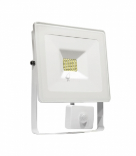 NOCTIS LUX SMD 120ST 230V 10W IP44 WW WALLWASHER WHITE WITH SENSOR SLI029020WW_CZUJNIK