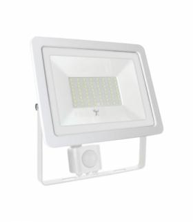 NOCTIS LUX 2 SMD 230V 50W IP44 CW WHITE WITH SENSOR SLI029044CW_CZUJNIK