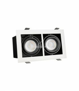 MODERN DAY MINI GU10 X2 WHITE FRAME SLIP002012