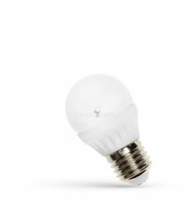 LED KULKA   E-27 230V 6W CW SPECTRUM + WOJ+13025
