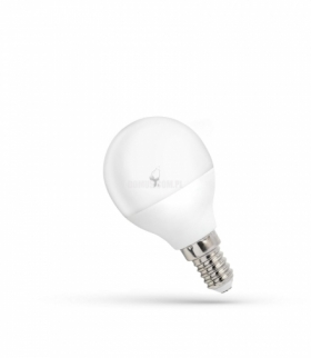 LED KULKA E-14 230V 4W CW SPECTRUM + WOJ+13031