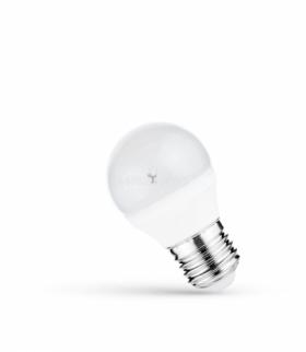 LED KULKA   E-27 230V 4W CW SPECTRUM WOJ+13033