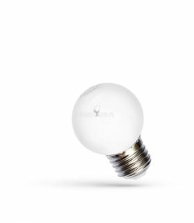 LED KULKA E-27 230V 1W RGB SPECTRUM WOJ+13105