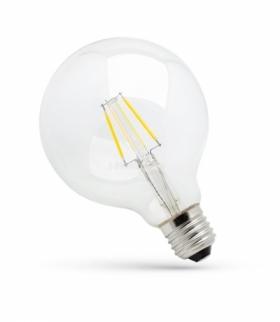 LED GLOB G95 COG E-27 230V 4W WW CLEAR SPECTRUM WOJ+13763