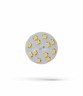 LED G4 12V 2W 12 LED WW 30MM SPECTRUM WOJ+13782