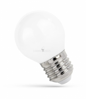 LED KULKA E-27 230V 4W  COG WW WHITE SPECTRUM WOJ+14074