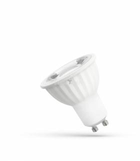 LED GU10 230V 6W SMD 45ST   NW Z SOCZEWKĄ SPECTRUM WOJ+14093