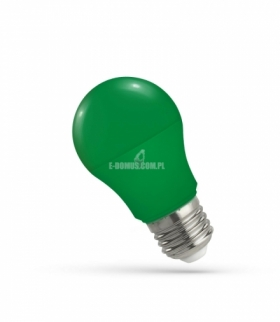 LED GLS E-27 230V 5W GREEN SPECTRUM WOJ+14111
