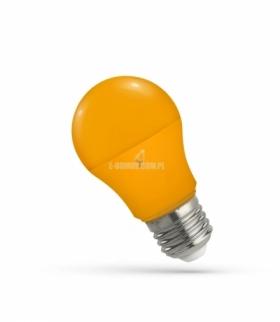 LED GLS E-27 230V 5W ORANGE SPECTRUM WOJ+14114