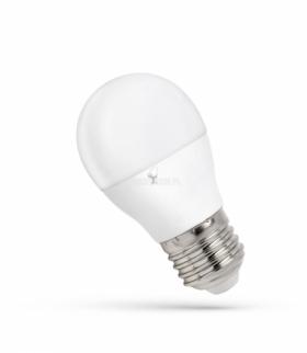 LED KULKA E-27 230V 8W CW SPECTRUM WOJ+14219