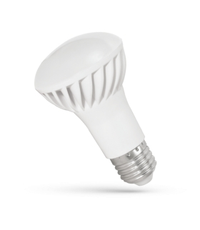LED R-63 E-27 230V 8W CW SPECTRUM WOJ+13993