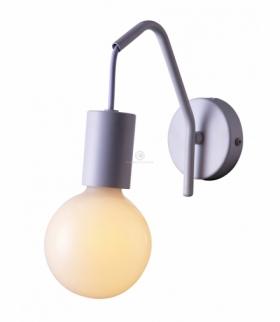 BASSO LAMPA KINKIET 1X40W E27 BIAŁY MATOWY Candellux 21-70982