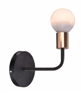 SPILL LAMPA KINKIET 1X60W E27 CZARNY Candellux 21-56528