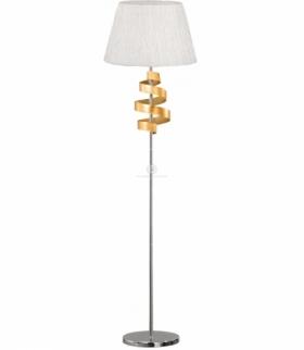 DENIS LAMPA PODŁOGOWA 1X60W E27 CHROM/ZŁOTY Candellux 51-23506