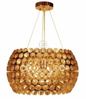 ABROS LAMPA WISZĄCA 40 1X60W E27 MIEDZIANY Candellux 31-09067