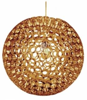 ABROS LAMPA WISZĄCA 50 1X60W E27 MIEDZIANY Candellux 31-09074