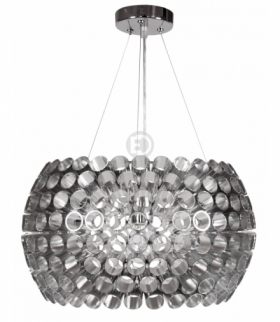 ABROS LAMPA WISZĄCA 40 1X60W E27 SREBRNY Candellux 31-94097