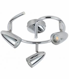 LIBERTY LAMPA SUFITOWA SPIRALA 3X4W LED CHROM Candellux 93-49612