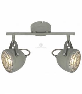 PENT LAMPA SUFITOWA LISTWA 2X50W GU10 BETONOWY SZARY Candellux 92-68057