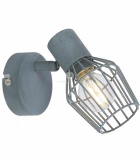 VIKING LAMPA KINKIET 1X40W E14 SZARY Candellux 91-68002