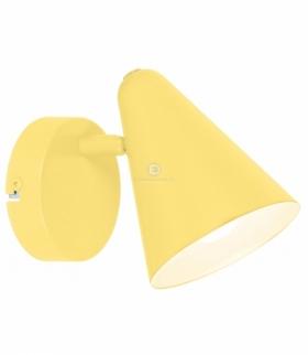 AMOR LAMPA KINKIET 1X40W E14 BANANOWY Candellux 91-68774