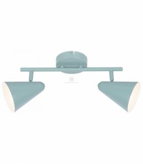AMOR LAMPA SUFITOWA LISTWA 2X40W E14 SZARY MAT Candellux 92-63335