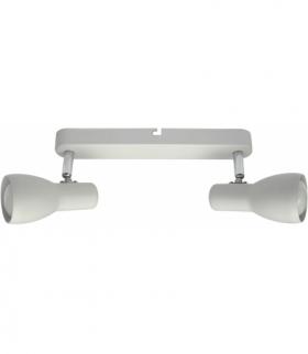 PICARDO LAMPA SUFITOWA LISTWA 2X40W E14 BIAŁY MAT Candellux 92-44181