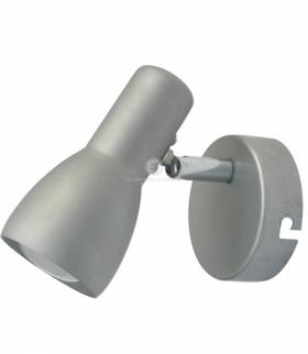 PICARDO LAMPA KINKIET 1X40W E14 SZARO SREBRNY Candellux 91-43917