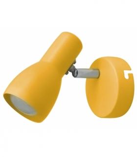 PICARDO LAMPA KINKIET 1X40W E14 MUSZTARDOWY Candellux 91-52391