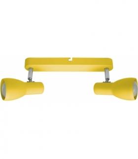 PICARDO LAMPA SUFITOWA LISTWA 2X40W E14 MUSZTARDOWY Candellux 92-52407