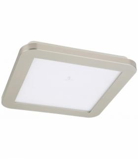NEXIT LAMPA SUFITOWA PLAFON 22,5X22,5 12W LED IP44 SATYNA+BIAŁY 3000K Candellux 10-66824