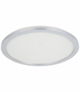 PIXEL LAMPA SUFITOWA PLAFON 40 24W LED IP44 CHROM+GRANILA 3000K Candellux 10-67432