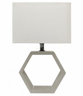 VIDAL LAMPA CERAMICZNA 1X40W E27 BEŻOWY