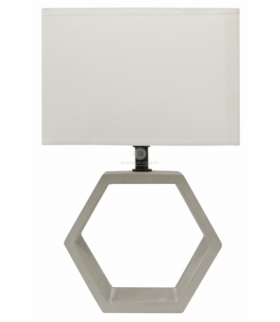 VIDAL LAMPA CERAMICZNA 1X40W E27 BEŻOWY Candellux 41-68545