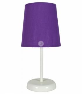 GALA LAMPA 1X40W E14 FIOLETOWA