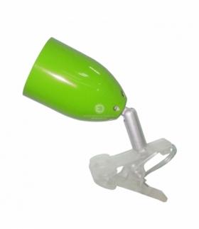 LED CLIP LAMPA KLIPS 1X3W LED ZIELONA