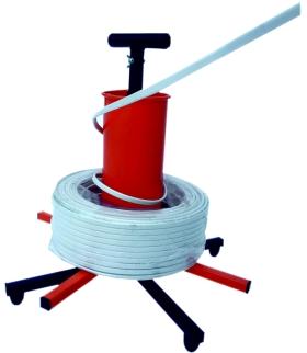 Rozwijak uniwersalny do przewodów, kabli i przeszla